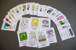 Podnosh cards, 21st century public servant project